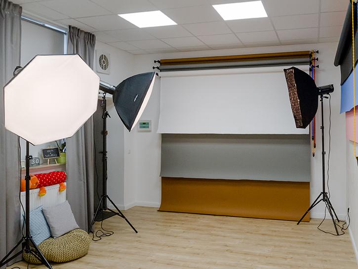 Blick in unser Studio