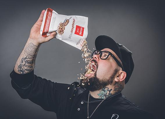 Werbefotografie, Timo Hinkelmann, TV Koch, d & d Fotostudio